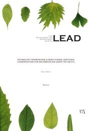 LEAD-journal.org - Technology Transfer and Climate Change - Law ...
