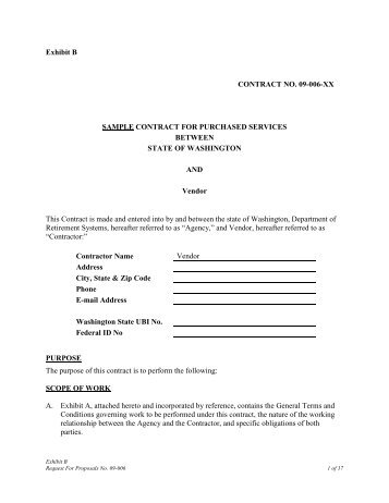 Exhibit 3 – Service Contract Act Wage Determination 1