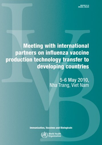 Meeting with international partners - libdoc.who.int - World Health ...