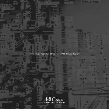 Technology Transfer Office : : 2005 Annual Report - Research ...
