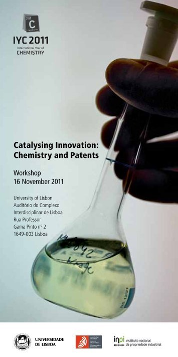 Catalysing Innovation: Chemistry and Patents - INPI