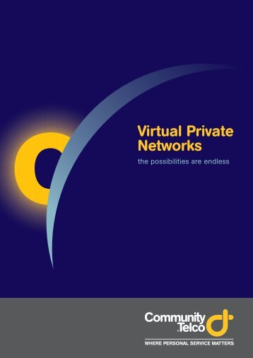 Virtual Private Networks - Community Telco