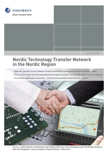 Nordic Technology Transfer Network for ... - Nordic Innovation