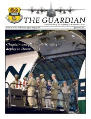 THE GUARDIAN - 153rd Airlift Wing, Wyoming Air National Guard