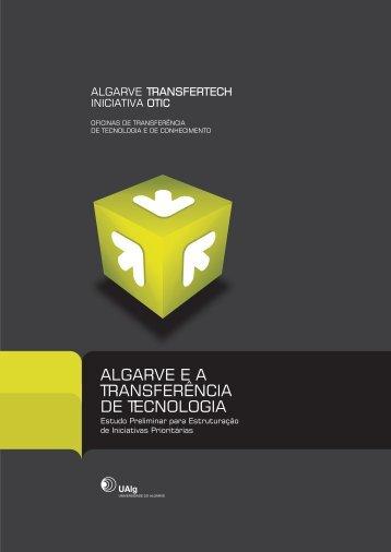 O Algarve e a Transferência de Tecnologia - CRIA