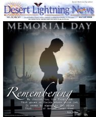 Vol. 2, No. 21 May 23, 2008 - Davis-Monthan Air Force Base