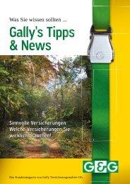 Tipps & News Herbst 2010 (pdf) - Gally Versicherungsmakler GmbH
