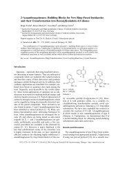 2-Azaanthraquinones - Verlag der Zeitschrift für Naturforschung