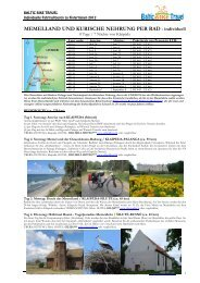 Baltic Bike Travel Individuelle Fahrradtour - 8 Tage ... - Baltic Cycle.