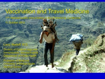 Vaccination and Travel Medicine