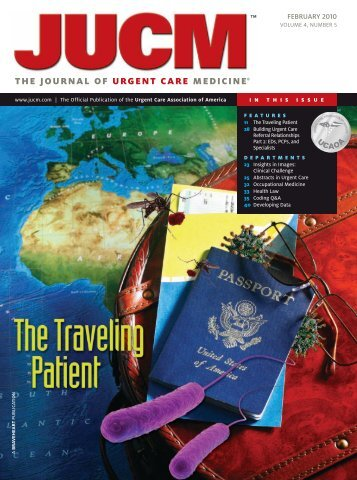 the journal of urgent care medicine - New Mexico Travel Health ...