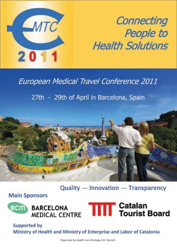 29 April 2011 in Barcelona - European Medical Travel Conference ...