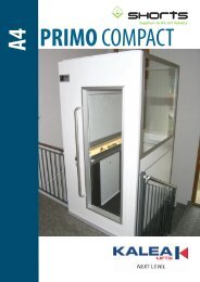 Broschyr A4 Primo Compact ENG 100211.indd - Bespoke Access Lifts
