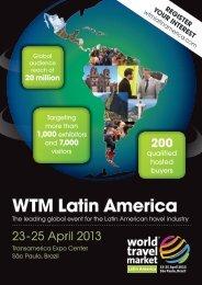 who will attend wtm latin america? - World Travel Market
