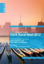 PATA Travel Mart 2012 - TTG Asia