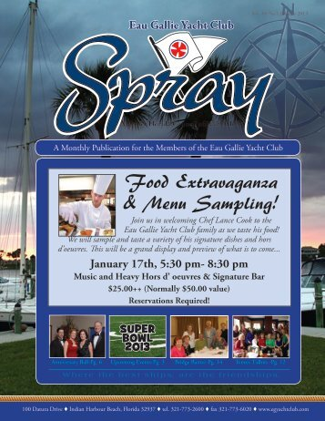 November Spray - Eau Gallie Yacht Club