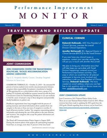 Performance Improvement MONITOR ... - Reflectx Staffing