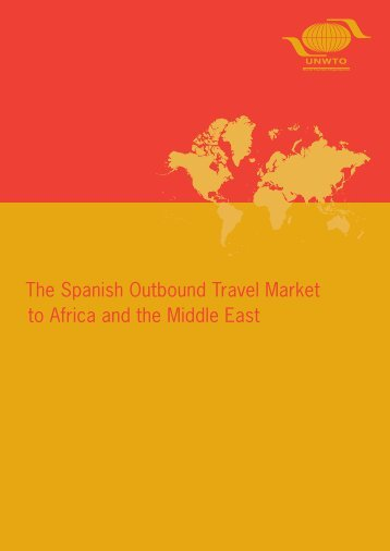 The Spanish Outbound Travel Market to Africa and the Middle East