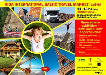 RIGA INTERNATIONAL BALTIC TRAVEL MARKET, Latvia