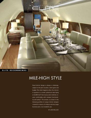 MILEgHIGH STYLE - Elite Traveler