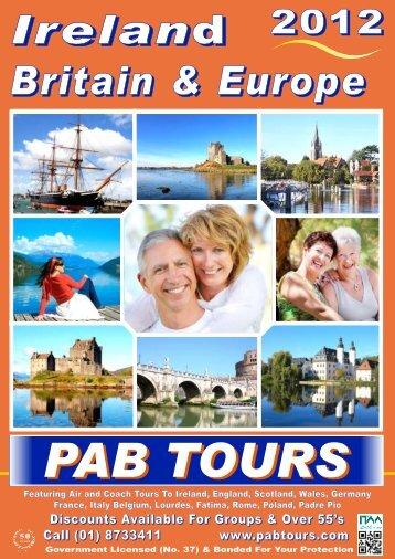 PAB 2012_Tours - PAB Coach Tours