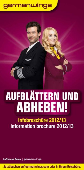 produkte und services - Germanwings