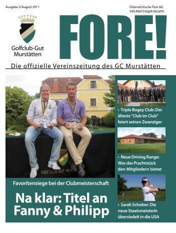 Einladung zuM TURNIER DES PRÄSIDENTEN - Golfclub Gut ...