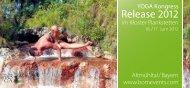 Broschüre des Yoga Kongress Release 2012 mit ... - BOM Events