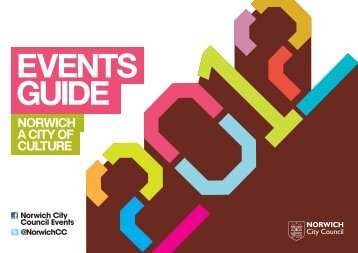 EVENTS GUIDE - Norwich City Council