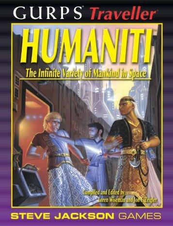 GURPS Traveller: Humaniti - e23 - Steve Jackson Games