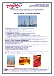 Incentive on the French Riviera - transglobe
