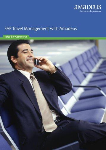 SAP Travel Management with - Amadeus