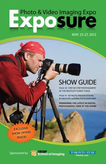 SHOW GUIDE - Exposure - Photo & Video Imaging Expo