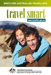 Travel Smart Brochure - Hints for Australian Travellers - Smartraveller