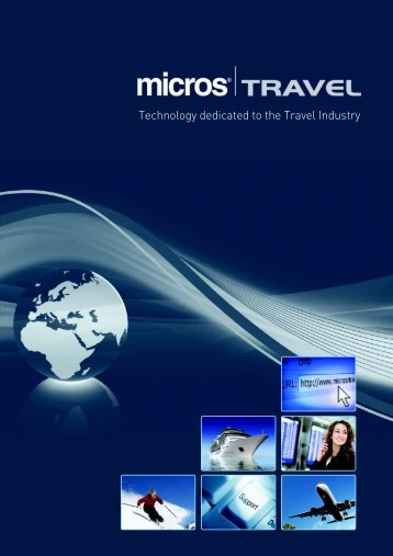 Technology dedicated to the Travel Industry - Micros Travel