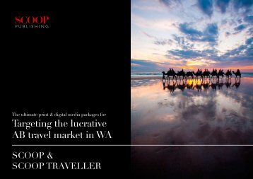 Targeting the lucrative AB travel market in WA - Scoop Magazine