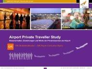 Airport Private Traveller Study steht zum Download bereit - Stuttgart