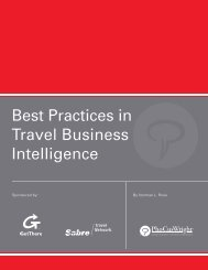Best Practices in Travel Business Intelligence - GetThere