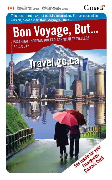 Bon Voyage, But... - Travel