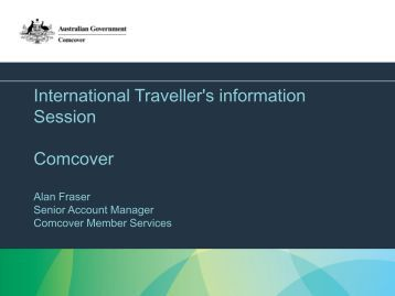 Travel Outside Country - What is covered? - Department of Finance ...