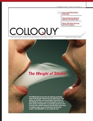 The Weight of Smoke