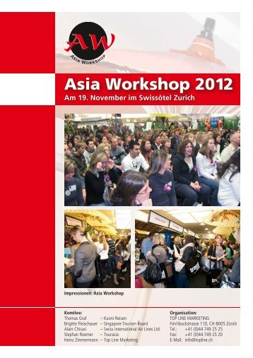 Aussteller - Booklet (PDF) - Asia Workshop