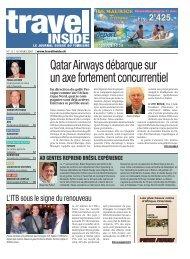 Qatar Airways débarque sur un axe fortement ... - Primus Verlag