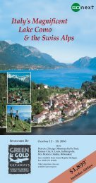 Italy's Magnificent Lake Como & the Swiss Alps - Wayne State ...