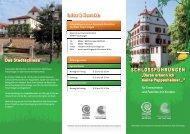 Infos & Kontakt: SCHLOSSFÜHRUNGEN - Stadt Treuchtlingen