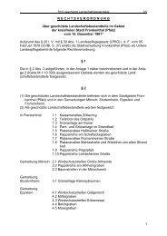 Rechtsverordnung - geschützte ... - Stadt Frankenthal