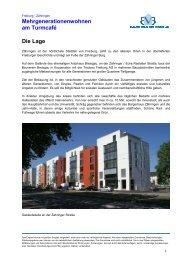 Mehrgenerationenwohnen am Turmcafé Die Lage - Bauverein ...
