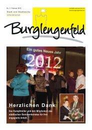 Infoblatt 2012/Ausgabe 1 - Burglengenfeld