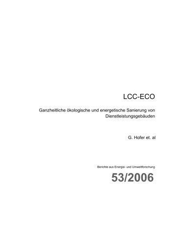 LCC-ECO - Haus der Zukunft