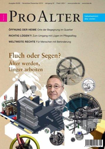 Fluch oder Segen? - Kuratorium Deutsche Altershilfe